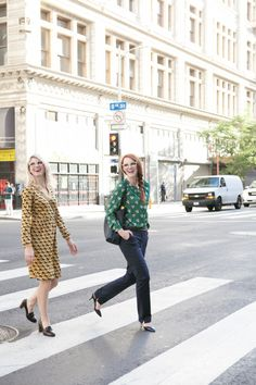 BODEN DIARIES: WORK WEAR WITH THE GIRLS WITH GLASSES