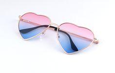 4759e1c3764b 49% СКИДКА Kehu Новая мода сердце форме многокрасочный очки солнцезащитные  женские металлические Светоотражающие Модные солнцезащитные очки Мужчины  зеркало ...