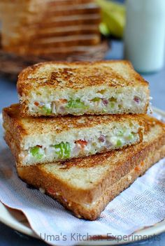 Bread Sandwich Recipes Indian Best Of Cheese Bread Sandwich Indian Curry Trail recipe indian Bread Sandwich Recipe Indian, Veg Sandwich, Sandwich Bread Recipes, Easy Pudding Recipes, Homemade Banana Bread, Healthy Sandwiches, Indian Breakfast, Cheese Bread, Yummy Snacks