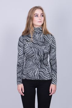 'Sola Waves' turtleneck from Swedish designer Rodebjer︱ www.grandpa.se︱  Scandinavian fashion and home decor︱ Shipping to Europe and the US