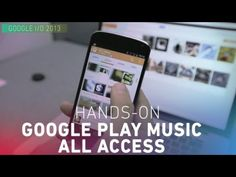 Google Play Music All Access - Google is taking on Spotify and Rdio with Google Play Music All Access subscription service, priced at $9.99 per month. Dante D'Orazio shows off the new service and interface.