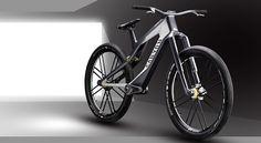 Canyon presenta su nueva suspensión por magnetismo y su frenado electrónico [concepto] - Bike T3CH Car Interior Design, Automotive Design, Canyon E Bike, Electronic Bike, Velo Design, E Mtb, Downhill Bike, Folding Bicycle, Road Bike Women