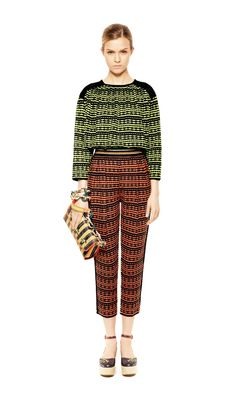 #MMissoni | Carioca Tunic & Trousers | Summer 2013 Collection