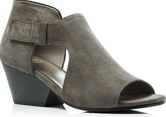 07a436a4c7b3 Consider the Eileen Fisher Iris Cutout Mid Heel Booties. Awesome booties  from the designer Eileen Fisher in Graphite. Feel radiant in these booties  by ...