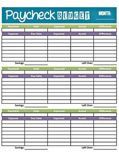 17 Brilliant and FREE Monthly Budget Template Printable you need to Grab Monthly Budget Planner.