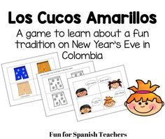 Los Cucos Amarillos- A game that teaches about a Colombian tradition