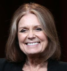 Wondering what haircuts and color looks best on women over age 50? I share the best bobs, shags, shoulder-length cuts and more in this gallery.: Gloria Steinem