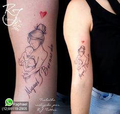 Tatuagem filhos gêmeos