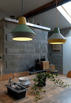 mix and match similar colors in a grouping - ILI-ILI lamps by Grupa