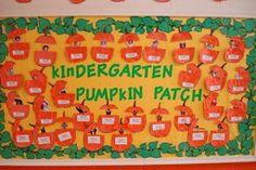 fall bulletin board ideas for preschool | Educate & Celebrate, Inc.: Fall Bulletin Board Ideas!