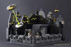 Gotham rooftop rendezvous