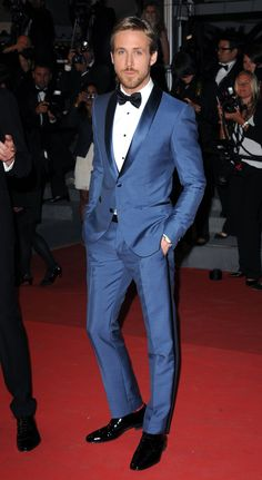 Ryan Gosling. | Here's Proof That Celebrity Men Look Unbearably Hot In Suits