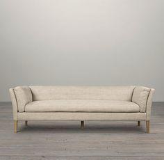 Superbe 7u0027 Sorensen Upholstered Sofa