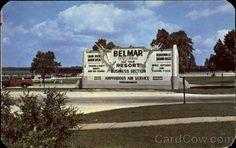 Entrance To Shark River Marine Basin Belmar New Jersey