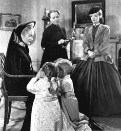 """Costumes from the Movie """"The Old Maid"""" directed by Edmund Goulding (1939)"""