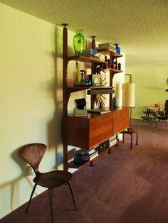 mod living room shelves