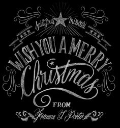 merry christmas - handwritting