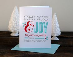 Holiday Cards by Alisa Bobzien, via Behance
