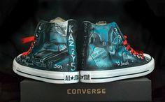 Canvas Warriors-Supernatural Custom Converse