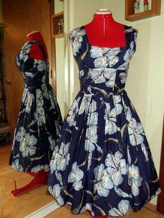 Vintage 50s Shaheen Dress