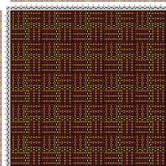 Drawdown Image: Karierte Muster Pl. XI Nr. 2, Die färbige Gewebemusterung, Franz Donat, 2S, 2T