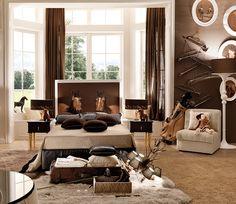 Gorgeous Modern Kids Room Models - Home Arragement Horse Themed Bedrooms, Bedroom Themes, Bedroom Decor, Horse Rooms, Bedroom Ideas, Bedroom Inspiration, Kids Bedroom Designs, Kids Room Design, Teen Room Decor