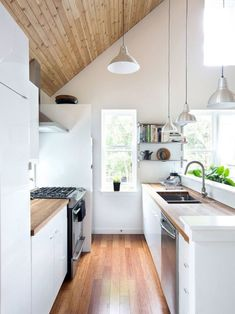 Nice 63 Gorgeous Modern Scandinavian Kitchen Ideas https://homeylife.com/63-gorgeous-modern-scandinavian-kitchen-ideas/