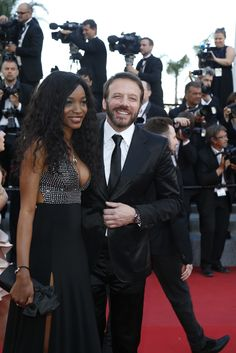 Samuel Le Bihan wearing his Charriol Gran Celtica SuperSportS chrono with wife Daniela wearing Charriol Tango Jewelry Sport Watches, Watches For Men, Cannes Film Festival 2015, Charriol, Weekend Wear, Tango, Chronograph, How To Wear, Jewelry