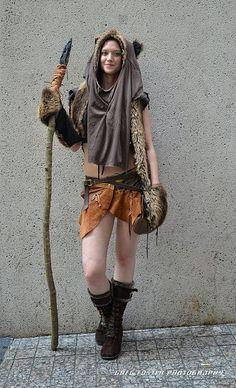 Ewok Wicket (Star Wars) cosplay