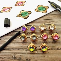 Colours of the Rainbow  The perfect way to elegantly amp up your look  Grab one in all colours  #Love #Fashion #Jewelry #MustHave #Luxury #Prerto #Studs