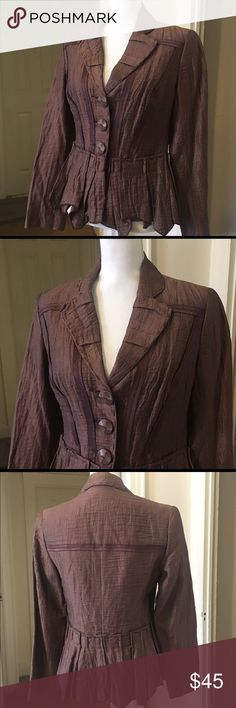 ✨People Like Frank Jacket 💕 Very good condition 🌟 Previously Loved and Gently worn ❤️ Fully Lined  Classy style Flattering Fit 🙂 Designer  Dress up everything 🎉 As-is #nofilter ✨Make an OFFER✨ People Like Frank Jackets & Coats Blazers