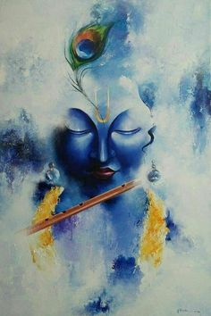 Arte Shiva, Shiva Art, Krishna Art, Shree Krishna, Krishna Images, Radhe Krishna, Hanuman, Krishna Drawing, Krishna Painting