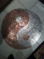 Ying-Yang of Pennies, Nickels and a few Quarters
