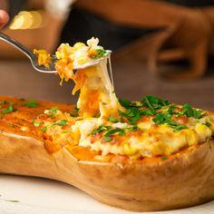 Vegetarian Recepies, Veggie Recipes, Soup Recipes, Healthy Recipes, Tasty Videos, Food Videos, Calabaza Recipe, Easy Cooking, Cooking Recipes