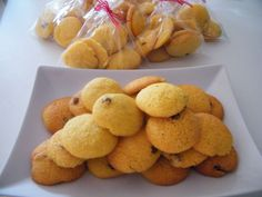 Snack Recipes, Cooking Recipes, Snacks, Polenta, Biscuits, Caramel, Cereal, Chips, Gluten Free
