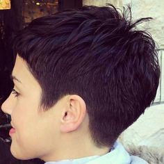 @soho.salon #pixie #harcut #shorthair #h #s #p #shorthaircut #hair #b #sh #haircuts