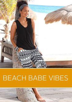 Wir zeigen euch wie man am Strand eine super Figur mach, und das ohne Diät! Get in the beach babe vibe!