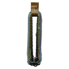 New Year's Eve 20ct Beaded Necklaces - Spritz™ : Target