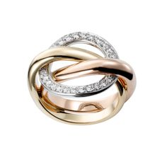 Cartier-TRINITY CRASH RING - only $7,000!!! I'm sure I'll be getting that for Christmas!! Ha ha