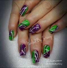 Rock Candy by NailedByStacy - Nail Art Gallery nailartgallery.nailsmag.com by Nails Magazine www.nailsmag.com #nailart