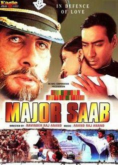 Major Saab (1998) Bollywood Movie Watch Online Free!