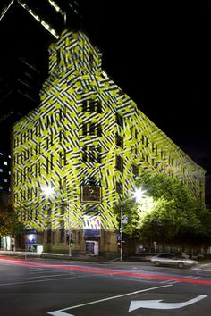 Image 3 of 12 from gallery of Where? Photograph by Christine Francis Photography Amazing Architecture, Architecture Design, 3d Projection Mapping, Sashimi, Experiential, Installation Art, Interior And Exterior, Melbourne, The Good Place