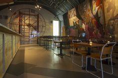 "Vencedores do ""Restaurant & Bar Design Award Cafe Bar, Cafe Restaurant, Restaurant Design, Restaurant Interiors, Bar Interior, Interior Exterior, Interior Design, Zaha Hadid Architects, Bar Image"