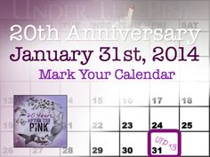 January 31st, 2014 marks the 20th Anniversary of the release of Tori Amos' album Under the Pink. We will be having an online celebration & invite you to join us!