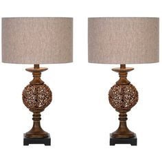 I pinned this Bates Table Lamp (Set of 2) from the Group Effort event at Joss and Main!