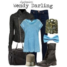 """""""Wendy Darling"""" by charlizard on Polyvore"""