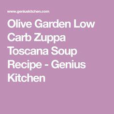 Olive Garden Low Carb Zuppa Toscana Soup Recipe - Genius Kitchen