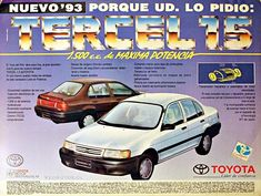 #veoautos.cl #Toyota #ToyotaTercel #Tercel #TercelCatalizado #Chile #Paseo #ToyotaPaseo #tercellovers #toyotatercelclub #toyotachile #toyotaclassic #historiasdeautosenchile Toyota Paseo, Toyota Tercel, Chile, United States, Historia, Autos, Chili Powder, Chili