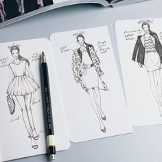 Details - Tailor-made for fashion designers - Aim for fast sketching and brainstorming - Perforation on each page - Set of 3, 40 templates per book - Convenient to bring along Specs - Size: 9cm (W) x