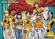 The New Mutants: Elixir - Prodigy - Surge - Wind Dancer - Wallflower - Icarus